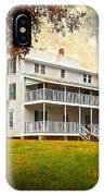 Thursby House Blue Springs IPhone Case