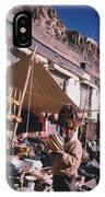 Tibet Market At Gyantse By Jrr IPhone Case