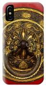 Tibetan Door Knocker IPhone Case