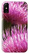 Tickled Thistle IPhone Case