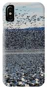 Tidal Wave Of Geese IPhone Case
