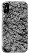 Tidewood Texture - Bw - Wonderwood Collection - Olympic Peninsula Wa IPhone Case