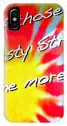 Tie Dye Tease IPhone Case