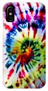 Tie Dyed T-shirt IPhone Case