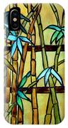 Stained Glass Tiffany Bamboo Panel IPhone Case