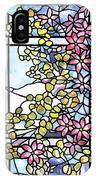 Stained Glass Tiffany Floral Skylight - Fenway Gate IPhone Case