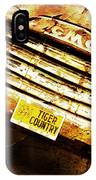 Tiger Country Old School IPhone Case