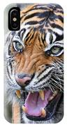 Tiger Growl IPhone Case
