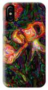 Tiger Lilies Abstract IPhone Case