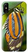 Tiger Mimic Queen Butterfly IPhone Case