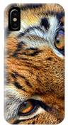 Tiger Peepers IPhone Case