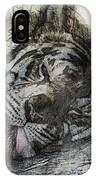 Tiger R And R IPhone Case