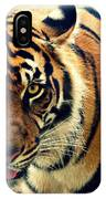 Tiger Tongue Two IPhone Case