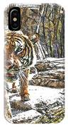 Tiger View IPhone Case