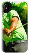 Tiger Woods - Wgc- Cadillac Championship IPhone Case