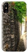 Tight Alley In Stone IPhone Case