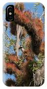 Tikal Furry Tree Closeup IPhone Case