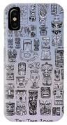 Tiki Cool Zone IPhone Case