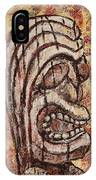Tiki God IPhone Case