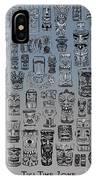Tiki Nighttime Zone IPhone Case