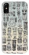 Tiki Time Zone IPhone Case
