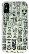 Tiki Treasure Zone IPhone Case