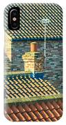 Tile Roofs - Thirsk England IPhone Case