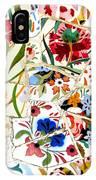 Tile Work In The Antoni Gaudi Park Barcelona IPhone Case