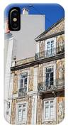 Tiled Building In Chiado District Of Lisbon IPhone Case