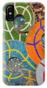 Tiled Swirls IPhone Case