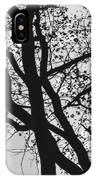 Tilia Night Silhouette IPhone Case