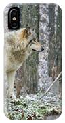 Timber Wolf Pictures 185 IPhone Case