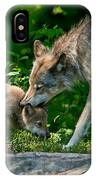 Timber Wolf Pictures 332 IPhone Case