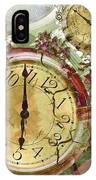 Time 5 IPhone Case