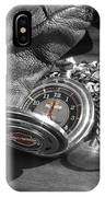 Time For A Ride IPhone Case