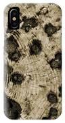 Time Holes - Sepia Tone - Wonderwood Collection - Olympic Peninsula Wa IPhone Case