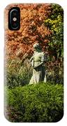 Time In The Garden IPhone Case