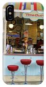 Time Out Snack Bar In Bath England IPhone Case