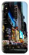 Time Square 2 IPhone Case