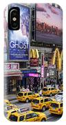 Time Square On A Week Day IPhone Case