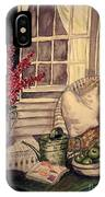 Time To Relax - Within Border IPhone Case