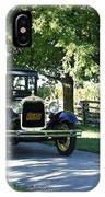 Timeless Beauty Vintage Model A Ford Tudor  IPhone Case