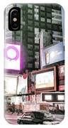 Times Square At Night IPhone Case