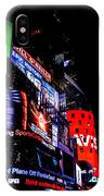 Times Square Lights IPhone Case