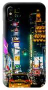 Times Square Nyc IPhone X Case
