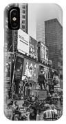 Times Square With Fog IPhone Case