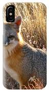 Fox Timmy At Sunset IPhone Case