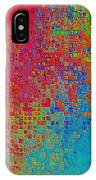 Tiny Blocks Digital Abstract - Bold Colors IPhone Case