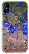 Tiny Blue Flowers IPhone Case