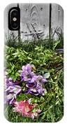 Tipsy Flowers IPhone Case